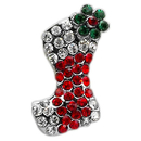 Mirage Pet Products 10-27 38STK Holiday 10mm Slider Charms Red Stocking
