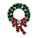Mirage Pet Products 10-27 38WRH Holiday 10mm Slider Charms Wreath