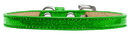 Mirage Pet Products 10-30 14LMG Plain Ice Cream Collars Lime Green 14