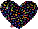 Mirage Pet Products Bright Hearts Stuffing Free Heart Dog Toy