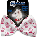Mirage Pet Products 1115-BT Pink Whimsy Cupcakes Pet Bow Tie