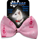 Mirage Pet Products 1117-BT Pink Whimsy Bird Cages Pet Bow Tie