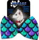 Mirage Pet Products 1125-BT Mermaid Scales Pet Bow Tie