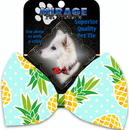 Mirage Pet Products 1129-BT Pineapples and Polka Dots Pet Bow Tie