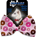 Mirage Pet Products 1131-BT Pink Donuts Pet Bow Tie