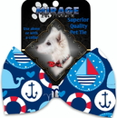 Mirage Pet Products 1144-BT Anchors Away Pet Bow Tie