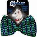 Mirage Pet Products 1189-BT Elephants and Butterflies Pet Bow Tie