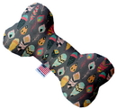 Mirage Pet Products 1200-TYBN10 Gray Feathers Wanderlust 10 inch Bone Dog Toy