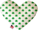 Mirage Pet Products Lucky Charms Stuffing Free Heart Dog Toy