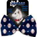 Mirage Pet Products 1232-BT Baseball Pinstripes Pet Bow Tie