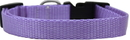 Mirage Pet Products 124-1 LVXS Plain Nylon Dog Collar XS Lavender