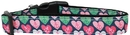 Mirage Pet Products 125-251 XS Anchor Candy Hearts Nylon Dog Collar XS
