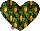 Mirage Pet Products Pineapples in Paradise Stuffing Free Heart Dog Toy