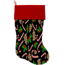 Mirage Pet Products 1272-STCK Candy Cane Chaos Christmas Stocking