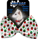 Mirage Pet Products 1275-BT Christmas Cupcakes Pet Bow Tie