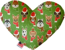 Mirage Pet Products Christmas Dogs Heart Dog Toy