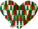 Mirage Pet Products Classy Christmas Trees Stuffing Free Heart Dog Toy