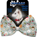 Mirage Pet Products 1287-BT Gray Christmas Party Pet Bow Tie