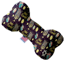 Mirage Pet Products 1289-SFTYBN6 Happy Chanukah 6 inch Stuffing Free Bone Dog Toy