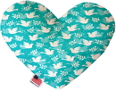 Mirage Pet Products Hope and Peace Stuffing Free Heart Dog Toy