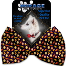 Mirage Pet Products 1344-BT Halloween Candy Confetti Pet Bow Tie