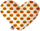 Mirage Pet Products Happy Pumpkins Heart Dog Toy