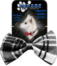 Mirage Pet Products Plaid Dog Bow Tie