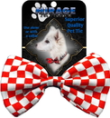 Mirage Pet Products Checkered Dog Bow Tie