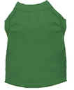 Mirage Pet Products 50-01 SMEG Plain Shirts Emerald Green Sm