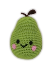 Mirage Pet Products 500-003 Knit Knacks Bartlett Pear Organic Cotton Small Dog Toy