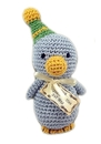 Mirage Pet Products 500-006 Knit Knacks Disco Duck Organic Cotton Small Dog Toy