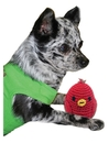 Mirage Pet Products 500-017 Knit Knacks Rockin Robin Organic Cotton Small Dog Toy