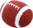 Mirage Pet Products 500-107 Knit Knacks Snap the Football Organic Cotton Small Dog Toy
