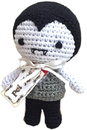 Mirage Pet Products 500-111 DRA Knit Knacks Dracula Organic Cotton Small Dog Toy