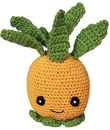 Mirage Pet Products 500-111 PNP Knit Knacks Paulie the Pineapple Organic Cotton Small Dog Toy