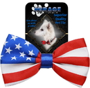Mirage Pet Products Big Dog Bow Tie, Flag
