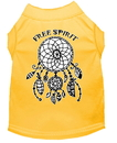 Mirage Pet Products 51-181 YWXXL Free Spirit Screen Print Dog Shirt Yellow XXL