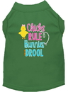 Mirage Pet Products 51-204 GRXXL Chicks Rule Screen Print Dog Shirt Green XXL