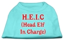 Mirage Pet Products Head Elf In Charge Screen Print Shirt