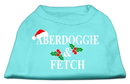 Mirage Pet Products Aberdoggie Christmas Screen Print Shirt