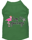 Mirage Pet Products 51-420 GRXXL Seas and Greetings Screen Print Dog Shirt Green XXL