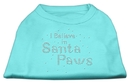 Mirage Pet Products I Believe in Santa Paws Shirt