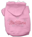 Mirage Pet Products Be Mine Hoodies