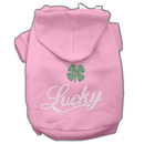 Mirage Pet Products Lucky Rhinestone Hoodies