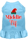 Mirage Pet Products Middle Elf Screen Print Dog Dress