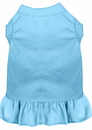 Mirage Pet Products 59-00 MDBBL Plain Pet Dress Baby Blue Med