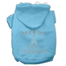 Mirage Pet Products Shimmer Christmas Tree Pet Hoodies
