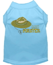 Mirage Pet Products 650-04 BBLLG Scout Master Embroidered Dog Shirt Baby Blue Lg