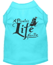 Mirage Pet Products A Pirate's Life Embroidered Dog Shirt