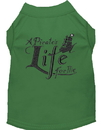 Mirage Pet Products 650-06 GRXXL A Pirate's Life Embroidered Dog Shirt Green XXL
